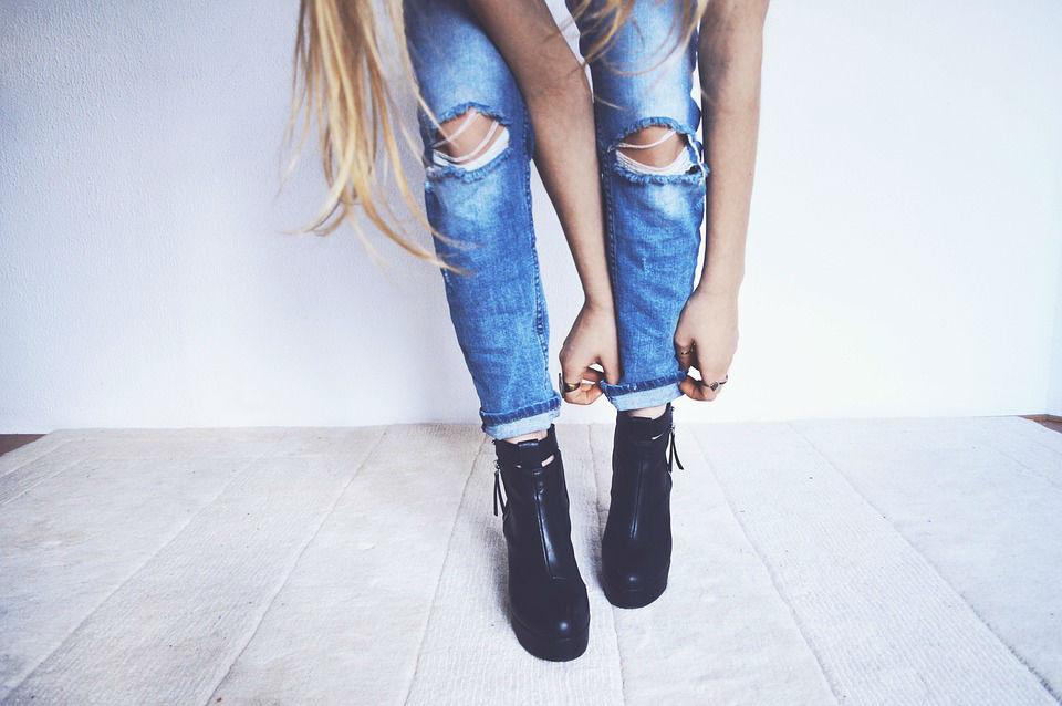 Le retour du jean taille haute