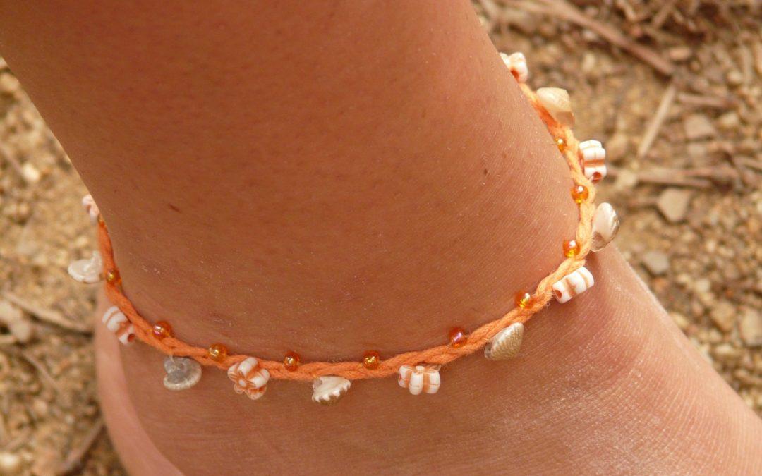La tendance de l'été : le bracelet de cheville