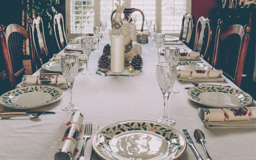 Idées décoration chic pour votre table de Noël